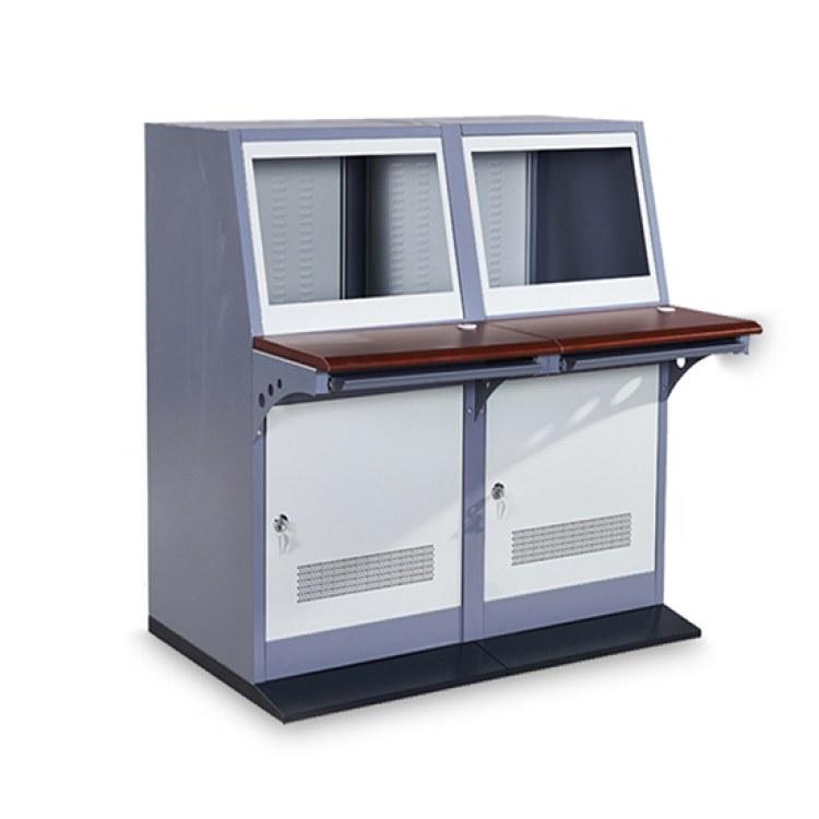 狼图腾 厂家直销 监控操作台 监控机柜 双联琴台