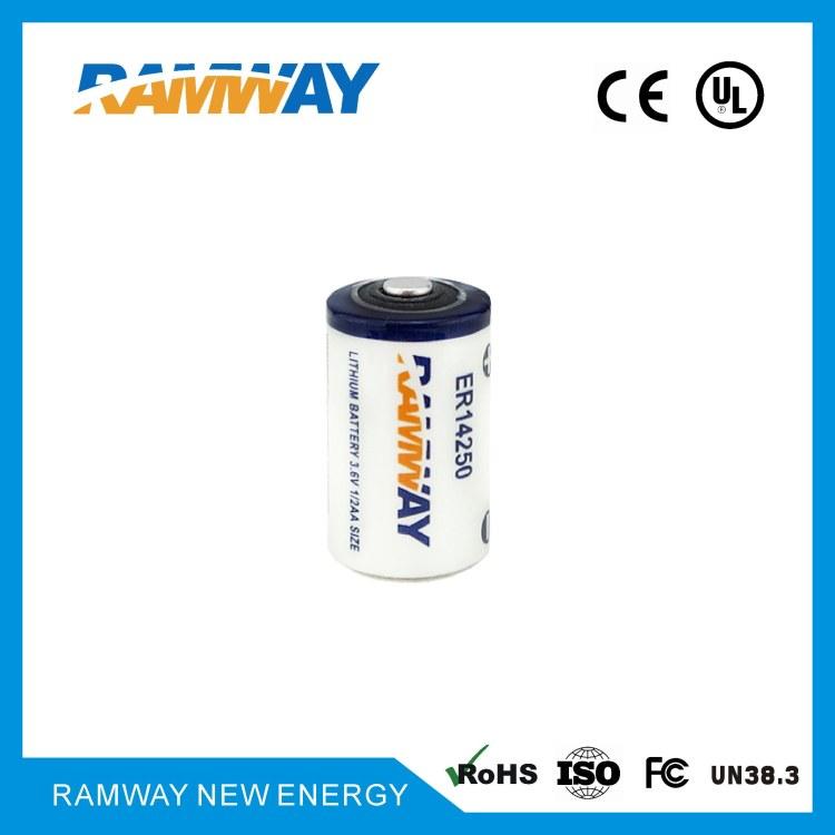 睿奕3.6V锂亚ER 14250电池 无线测温 温度采集 电动车定位