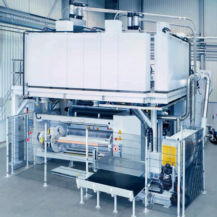 塑料膜热熔复合机 塑料膜热度复合机 国升 规格齐全