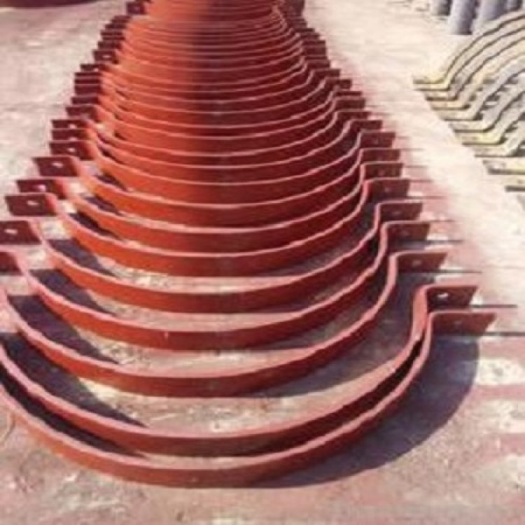 重型双螺栓管夹