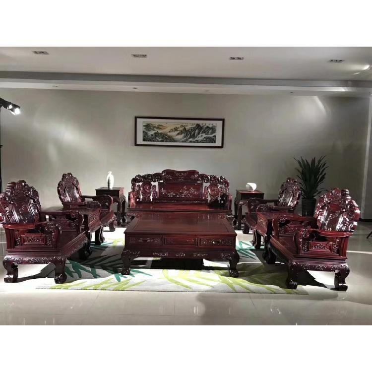 支持来图定制实木酸枝民宿沙发博古架梳妆台衣柜书画桌茶桌床餐桌办公桌会议桌