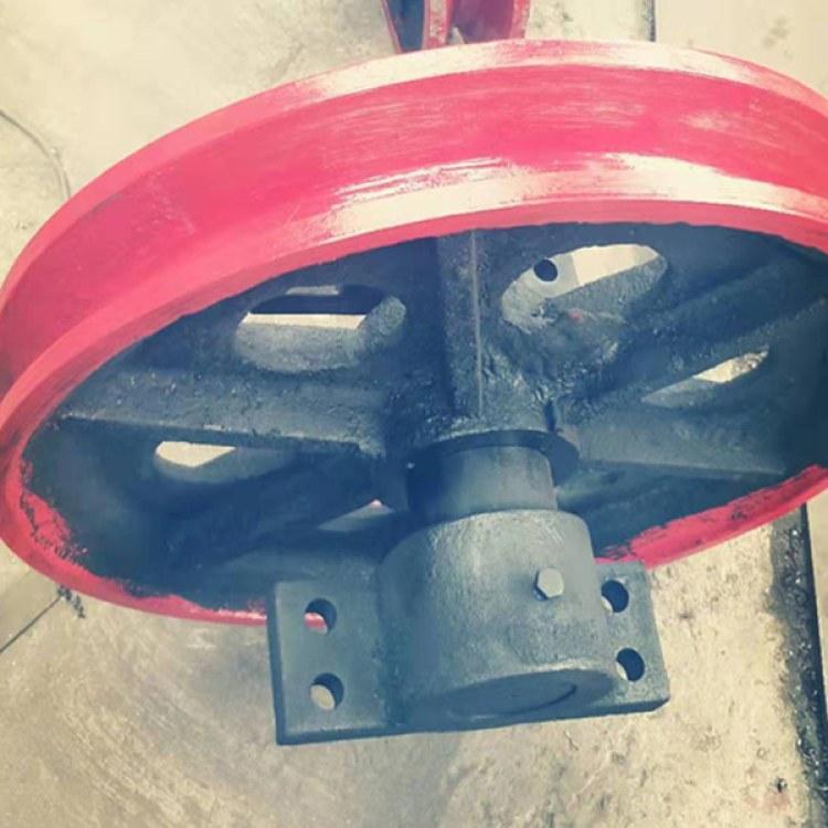 兴达矿山厂家生产定制 矿用绞车天轮 悬吊天轮价格实惠