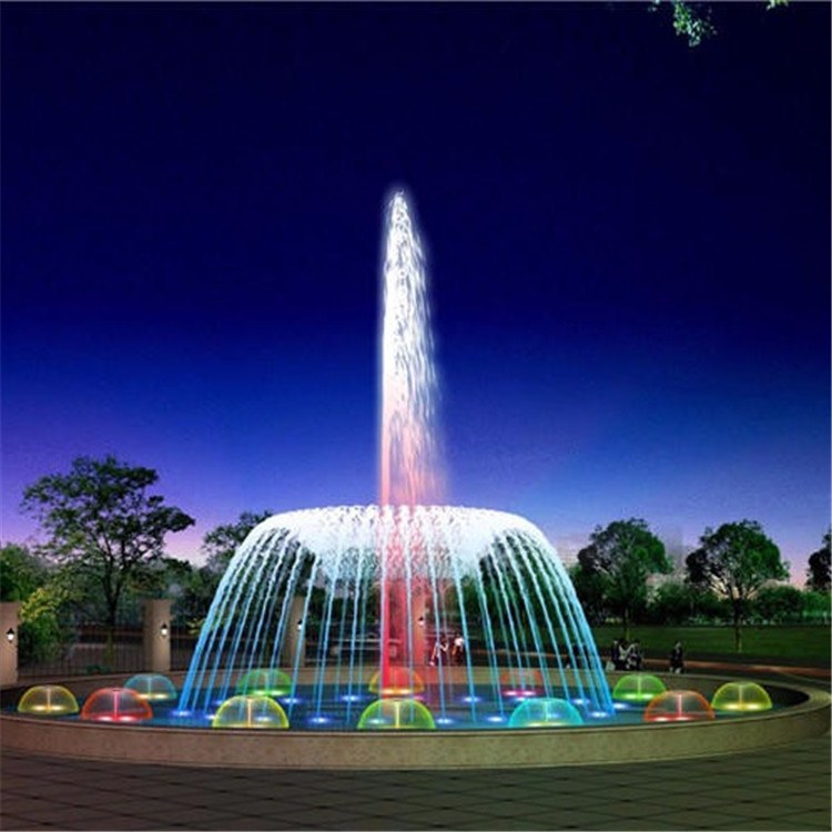音乐喷泉设备厂家 加工定制大型音乐喷泉 创荣园林