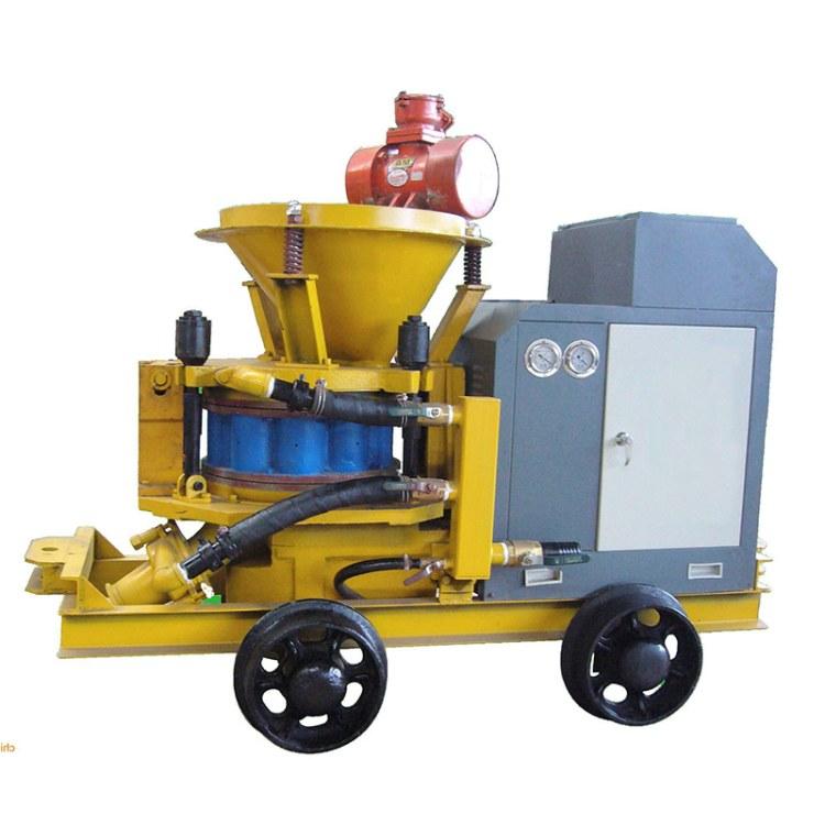 程煤7立方混凝土湿式喷浆机  胶轮湿喷机 立式腻子喷涂机直销