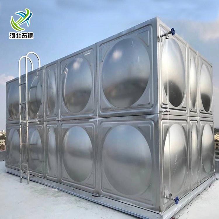 厂家直供不锈钢消防水箱 拼接式不锈钢34保温水箱
