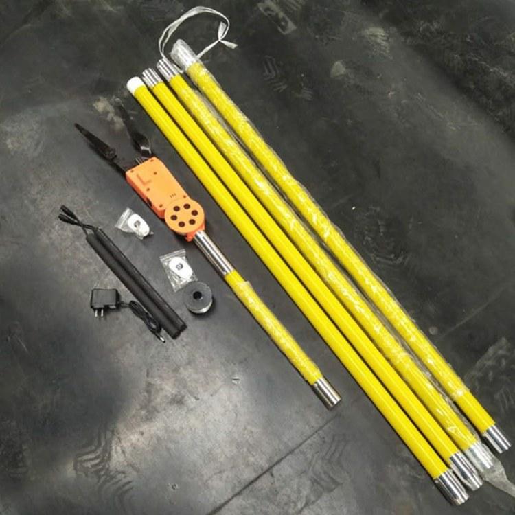 程煤高空智能光缆附挂机 绝缘杆挂线机 光缆附挂机直销