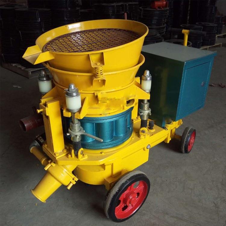 程煤6立方干喷机  墙面加固混凝土喷浆机 细石混凝土干喷机直销
