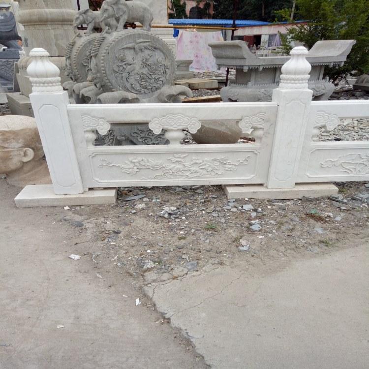 生产定制石雕青石栏板 河道石栏杆 广场尺寸定做石栏杆
