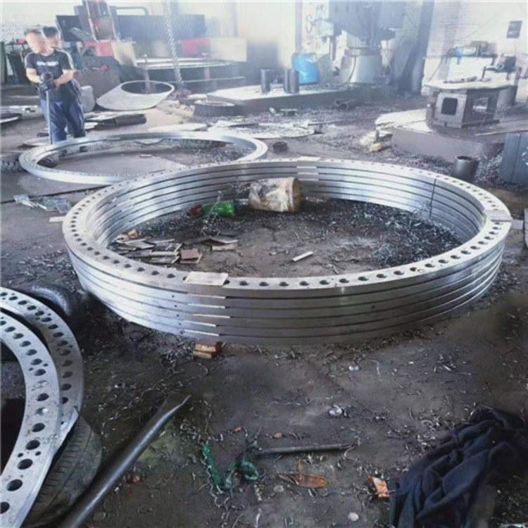 弘明厂家供应大型对焊法兰    碳钢大口径法兰销售  物超所值