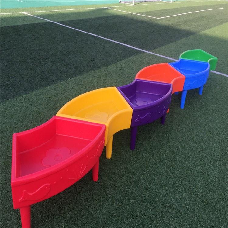 幼儿园玩具  儿童益智玩具儿童沙水盘 单元桶跨栏 博康厂家