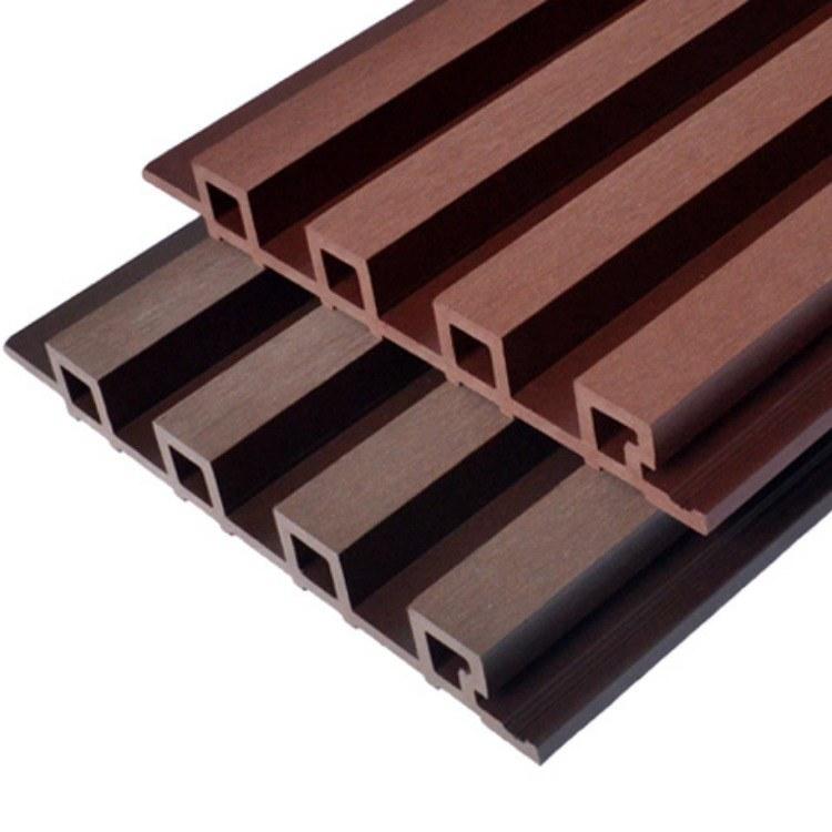 塑木墙板 【厂家直销】 红树林户外优质墙板 木塑长城板