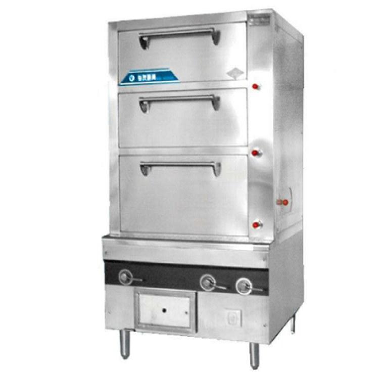 佳诺专业生产不锈钢燃气蒸箱  食堂厨房设备定制
