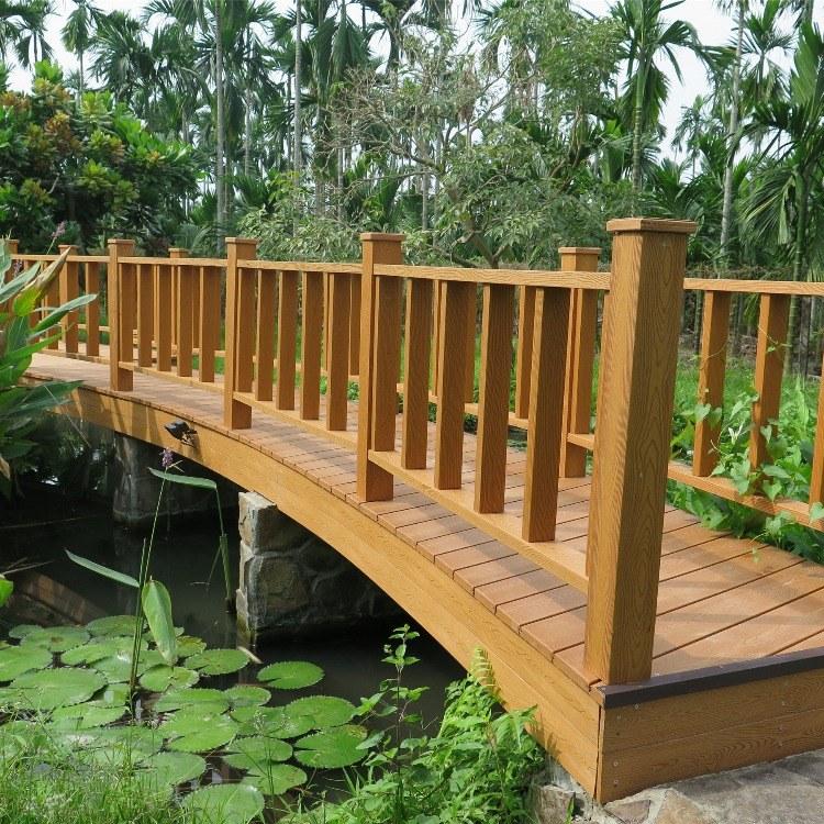 红树林木塑 145*145木塑栏杆  定制护栏扶手  华东地区 厂家直销