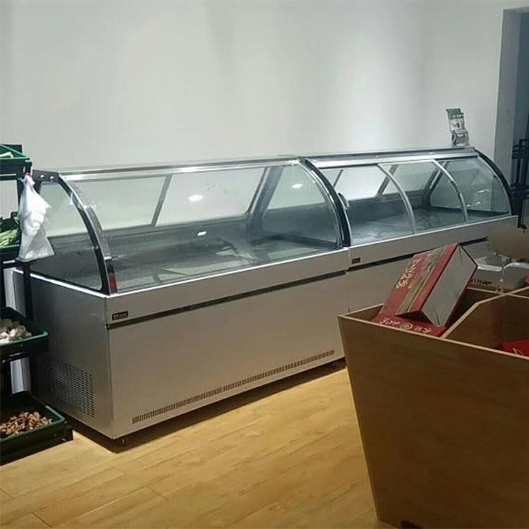 河南熟食柜价格 厂家直销卤菜保鲜柜 冷风熟食柜