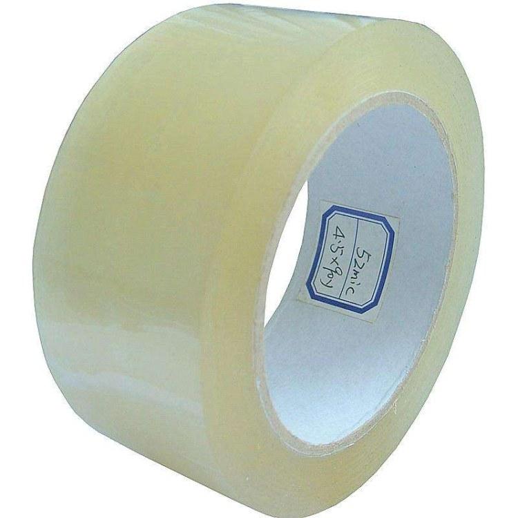 批发封箱胶带大卷宽5.5cm厚2.8cm透明封箱带包装胶带