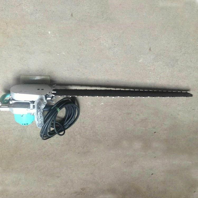 程煤电链锯 充电式锂电链条锯 矿用石头气动切割链锯直销
