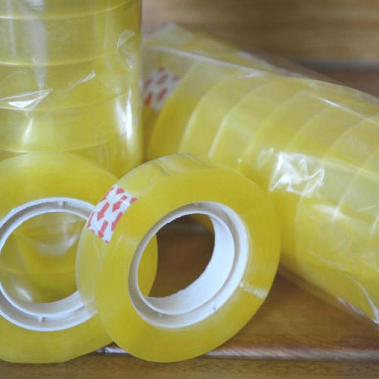 临沂佰冠直销透明胶带 封箱胶带批发韧性高 品质保证