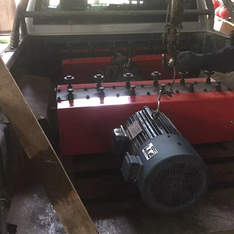 程煤穿线机 机械钢筋穿线机 钢筋穿梭机