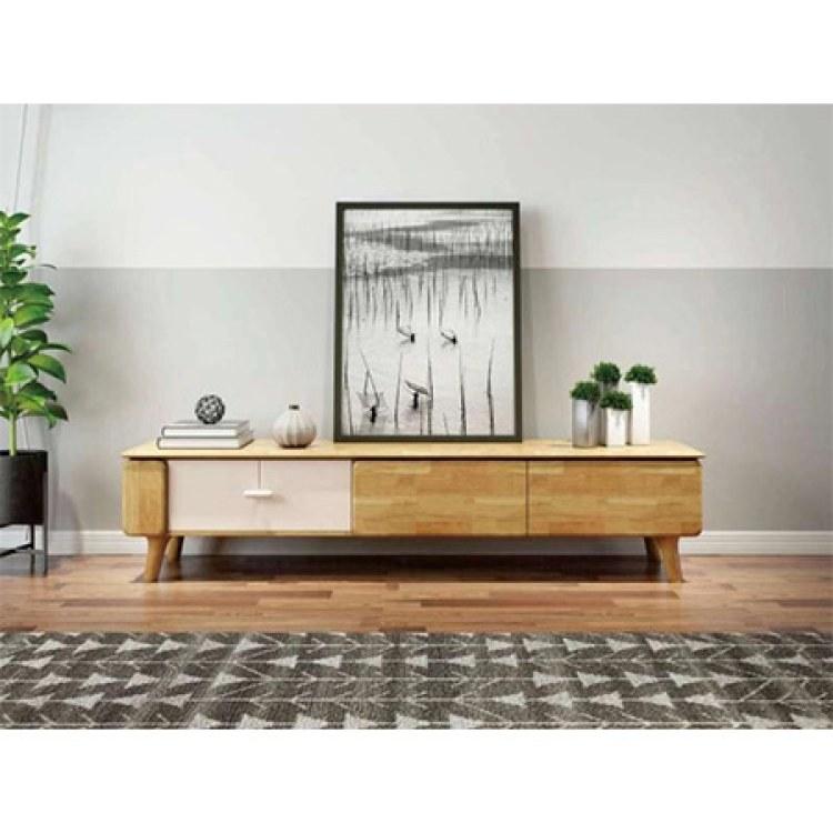 顺爱装饰家装   实木现代北欧电视柜