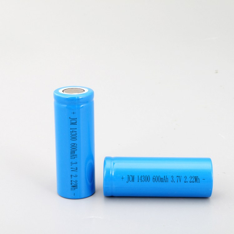 14300锂电池600MAH后备电源、手电筒设备可充电锂电池