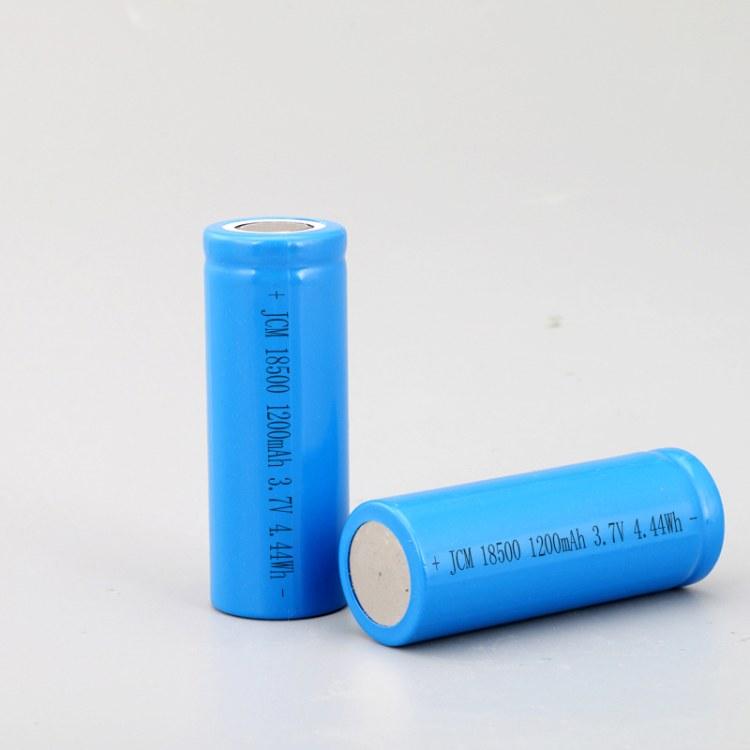 佳创铭18500锂电池 3.7V1200mah充电电池