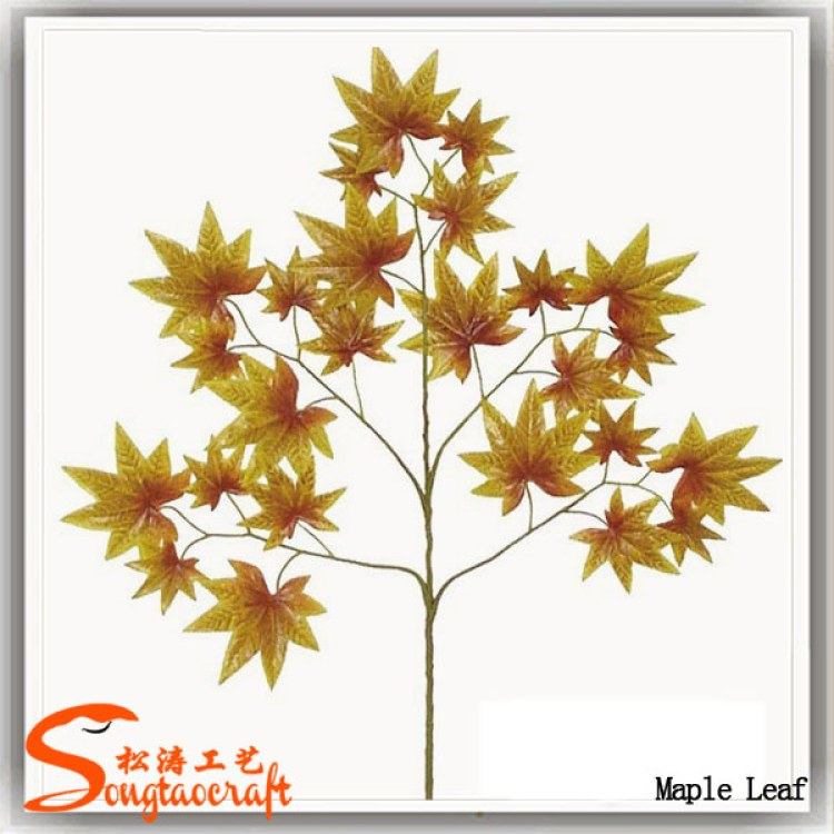 室外仿真树叶厂家 仿真枫叶批发 人造枫树叶子供应价格