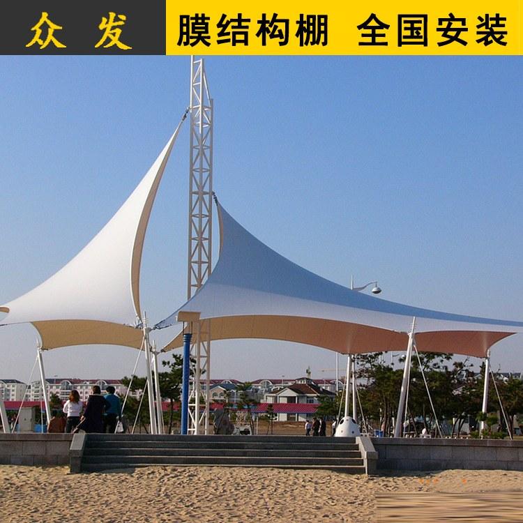 膜结构看台 安徽场馆膜结构看台价格 免费设计 南京众发
