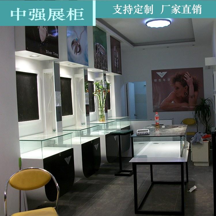 珠宝展示柜 新款珠宝展柜加工厂 厂家直销 中强