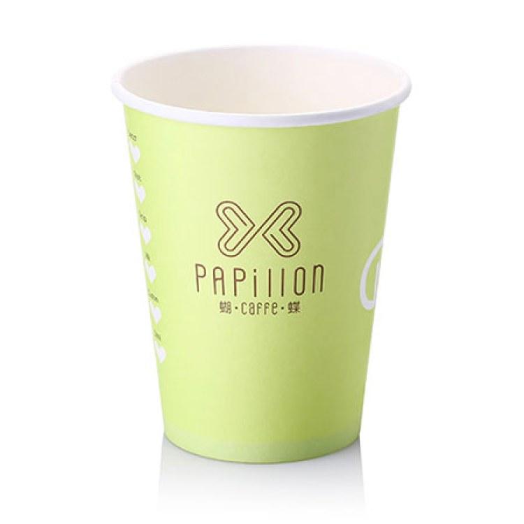 深圳纸杯厂 豆浆杯 厂家加工定制 各种纸杯定制 LOGO定制 一次性纸杯 10盎司广告纸杯