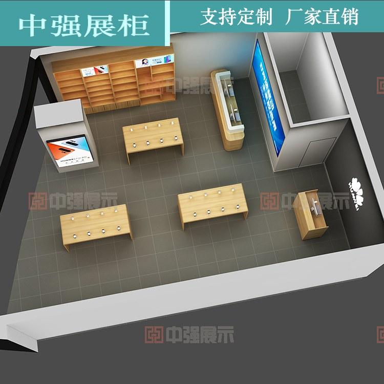 手机矮柜柜台 矮柜长柜台陈列柜手机柜展示柜 厂家直销 中强