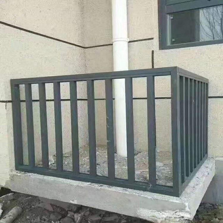 定制生产 空调护栏 室外空调护栏 铝艺空调护栏