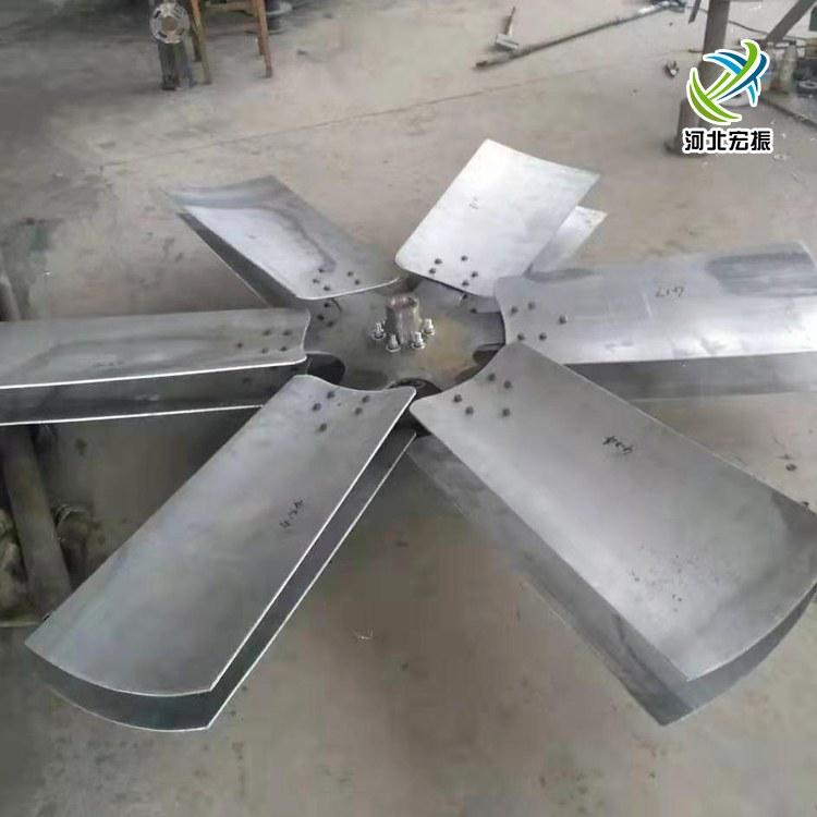 【宏振】降温塔耐酸碱防腐蚀玻璃钢风叶强度高