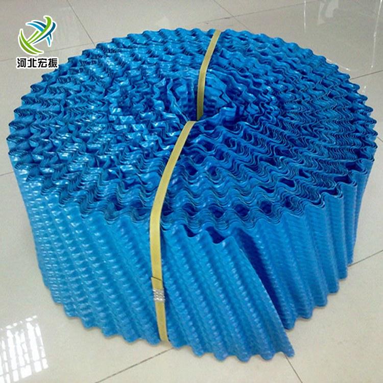 宏振 pvc冷却塔填料 悬挂冷却塔填料生产厂家
