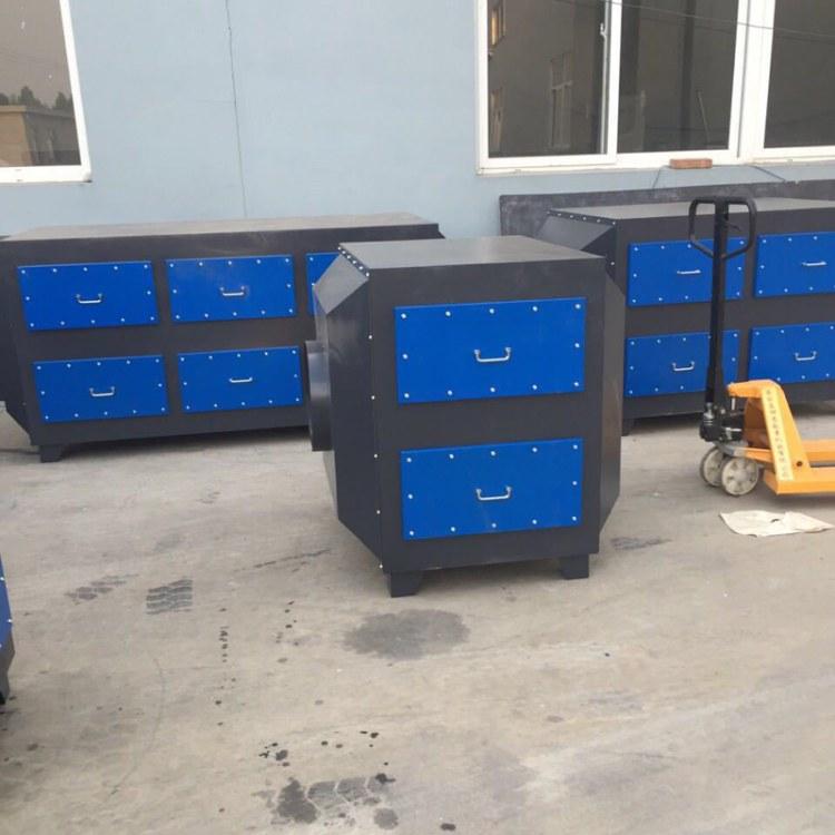 净能厂家直销 10000 15000风量活性碳环保箱吸附箱 设备 碳钢吸附塔