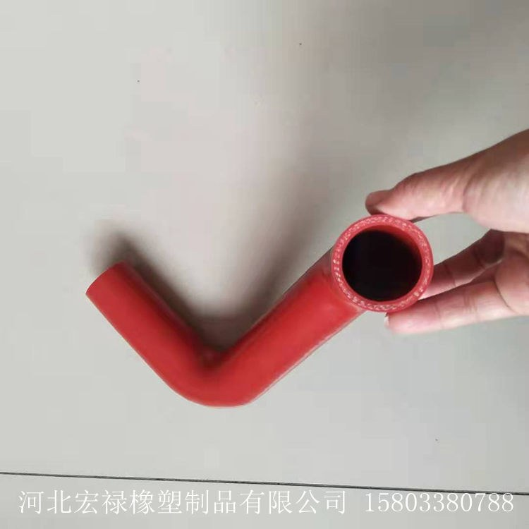 定做汽车硅胶管   发动机耐高温连接硅胶管 硅橡胶管来图定做宏禄