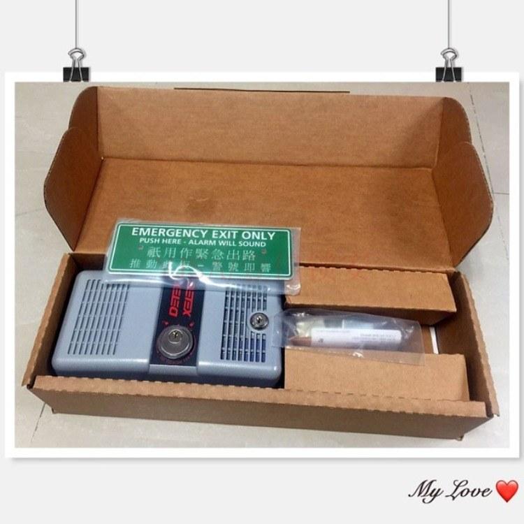 原装DETEX消防锁/达富斯推杆锁/报警锁/超市逃生器材ECL-230D
