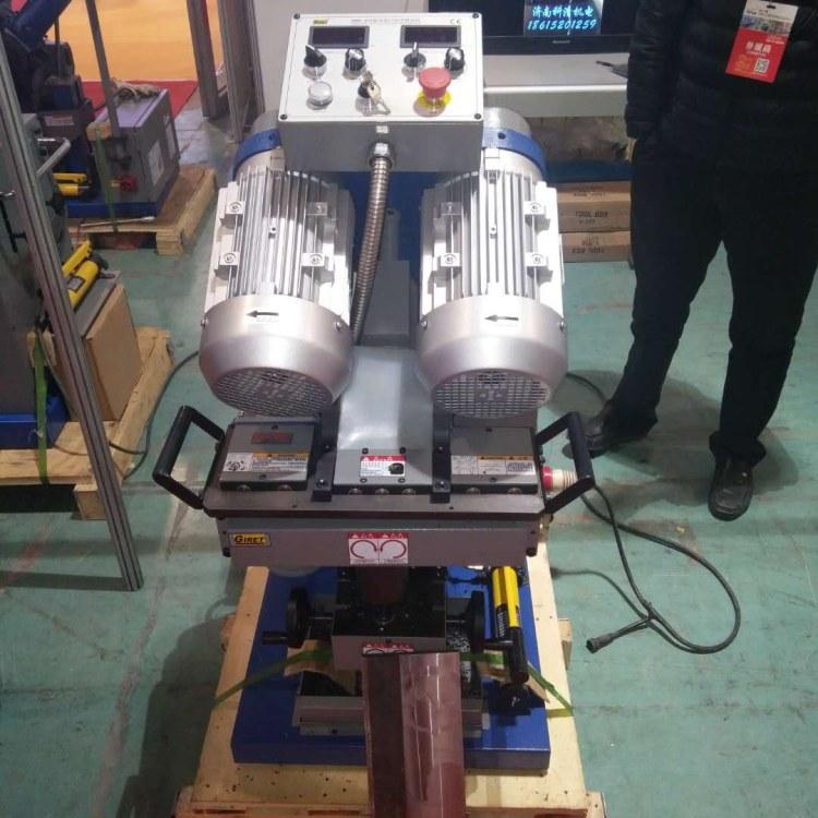 程煤坡口机 台式自动铣边机 可调节单电机磨口机直销