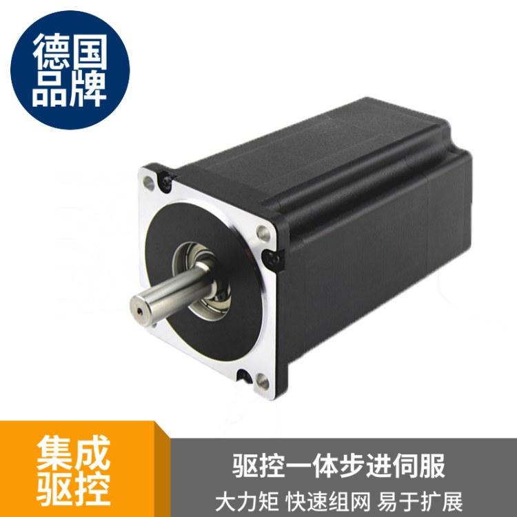 3.6Nm一体化电机 自带带总线驱动输入输出 canbus混合伺服86电机混合式