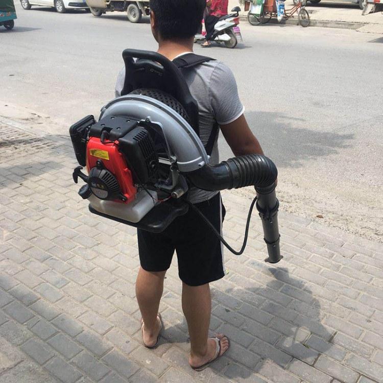 程煤便携式风力灭火机 背负式路面吹叶机 城市道路清洁吹风机