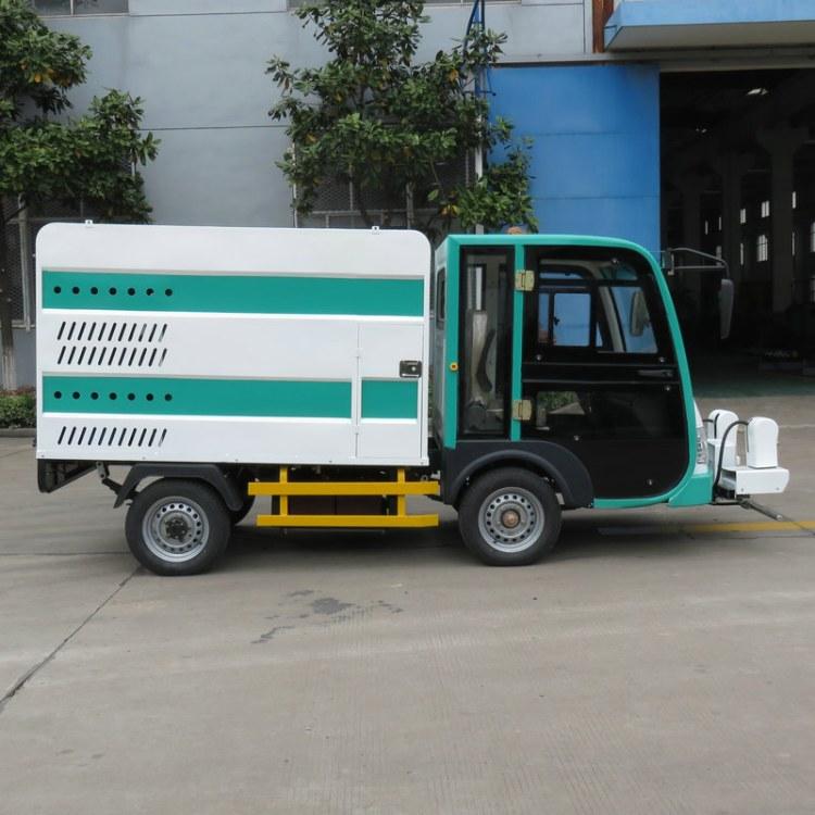 四轮电动高压多功能清洗车 人行道清洗车 电动环卫车