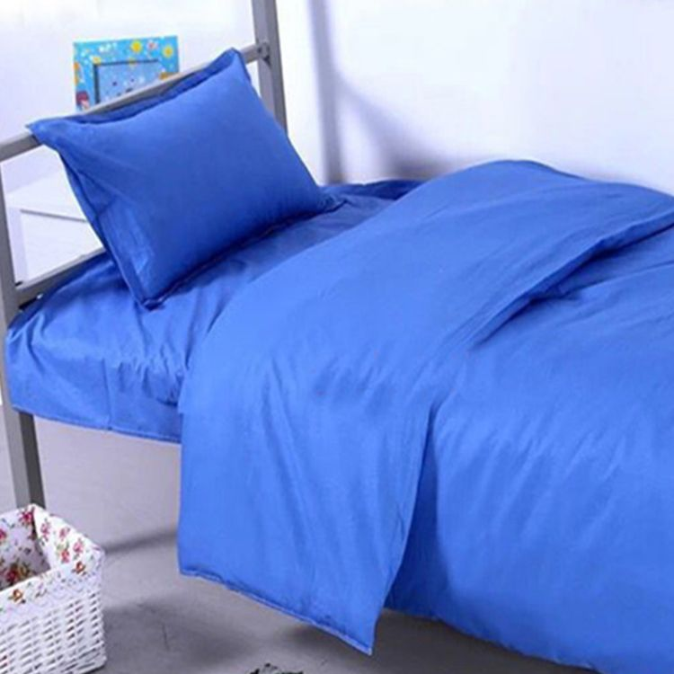 安徽床上用品旅馆宿舍床上三件套供应