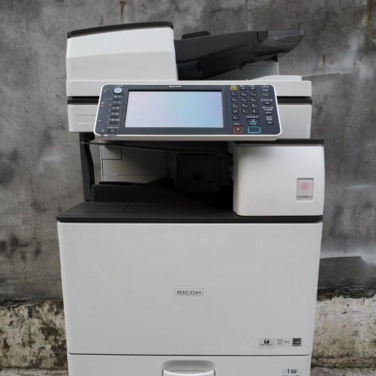 东莞周边理光一体彩色复印机出租-首月免费
