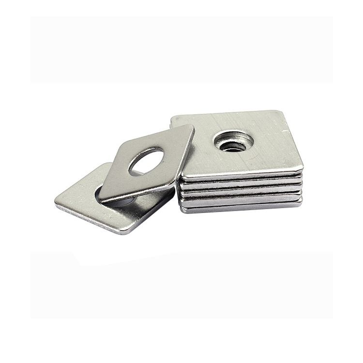 厂家订做 国标方垫 斜垫 异形 加厚方垫 订做异型非标冲压件 各种材质齐全 欢迎询价
