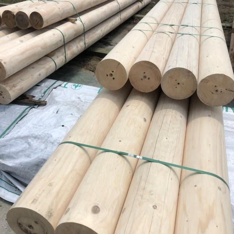 安徽亿景诚 防腐木 云杉 铁杉 碳化木