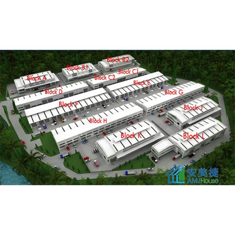 安美捷专业设计 钢结构厂房 钢结构车间