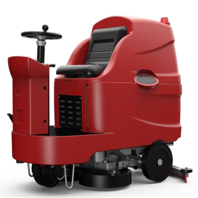 座驾洗地机生产厂家-工业用拖地机价格车库专用三合一洗地机市场价格销售