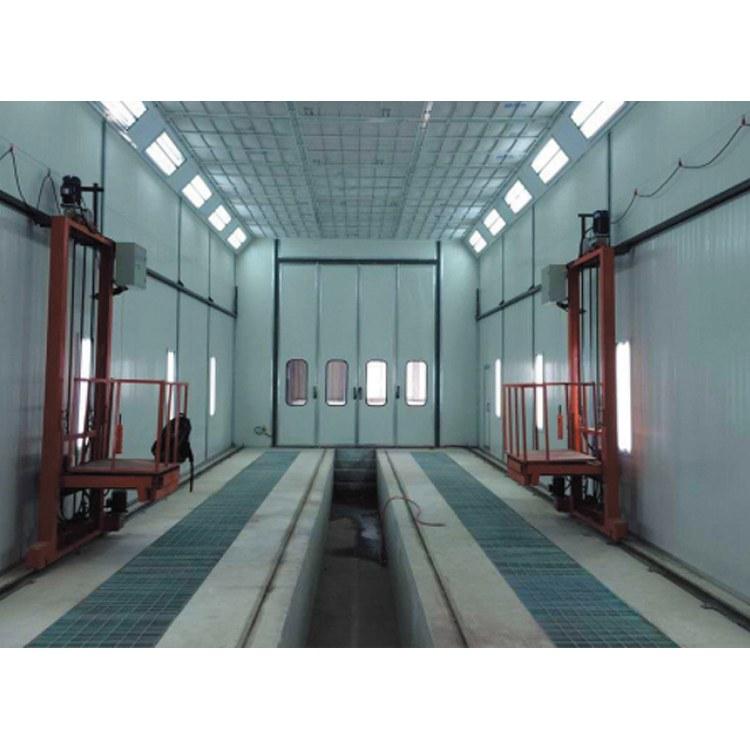 山東噴砂房 機械回收式噴砂房 適應于一些大型工件表面清理除銹