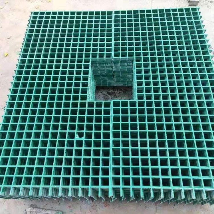 25mm玻璃钢格栅 国标树篦子玻璃钢格栅盖板伟安专业生产