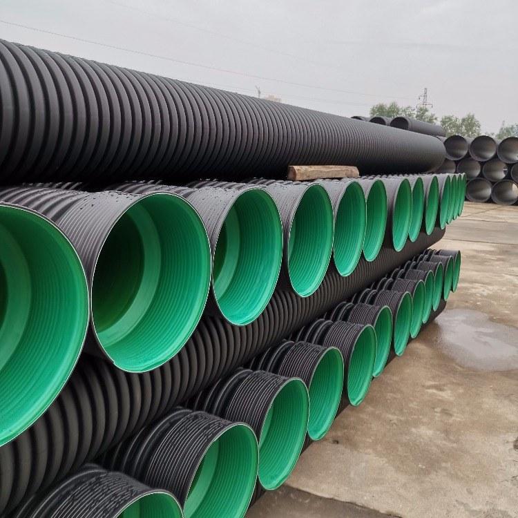 厂家直销优质国标波纹管排污排水管小口径大口径接受定制