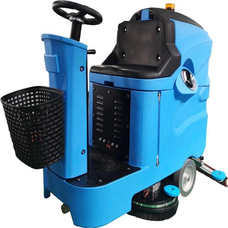全自动洗地机价格-多功能洗拖一体机宏骏清洁设备商场洗地机批发